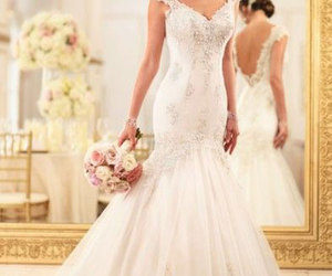 wedding dress, bridal gowns, and dress image