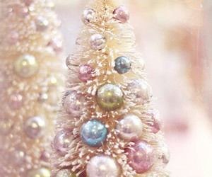 christmas, pastel, and christmas tree image
