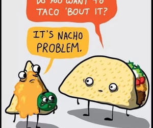 nachos, food, and funny image