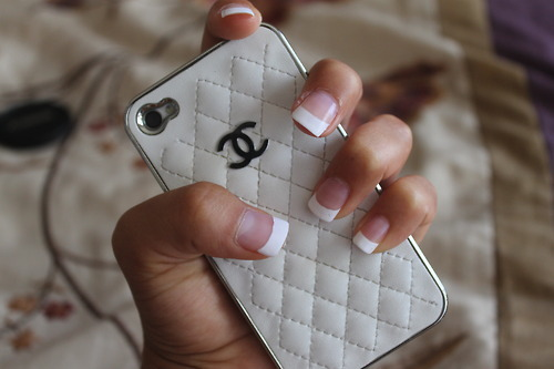 chanel, iphone, and phone case image