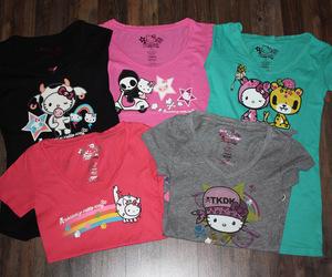 fashion, HelloKitty, and tshirt image