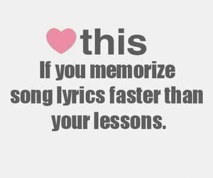 Lyrics, lesson, and song image