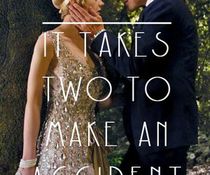 the great gatsby, gatsby, and love image