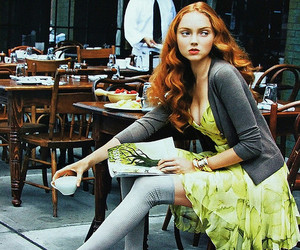 Arthur Elgort, british, and Lily Cole image