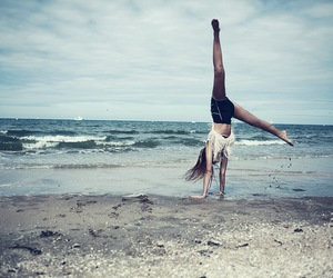 cool, flip, and girl image