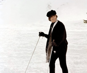 help!, john lennon, and snow image