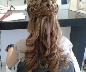 argentina, girl, and hair image