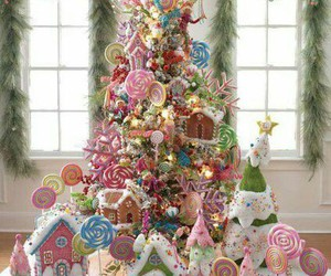 christmas, decorations, and pastel image
