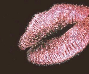 kiss, lips, and pink image
