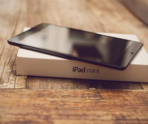 ipad, apple, and black image