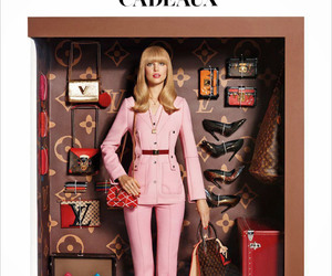 doll, fashion, and Louis Vuitton image