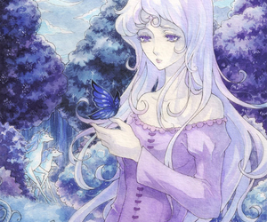 moonlight, the last unicorn, and lady amalthea image