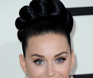 celebrity, katy perry, and hairstyles image