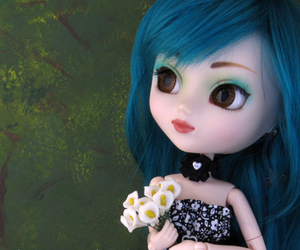 flowers, pullip, and prunella image