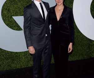 Shailene Woodley, divergent, and ansel elgort image