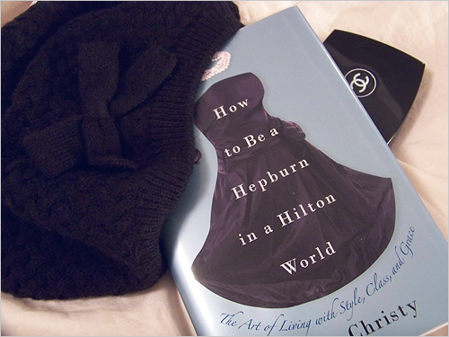 beanie, chanel, and hepburn image