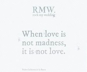 madness, quote, and wedding image