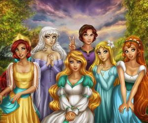 princess, anastasia, and disney image