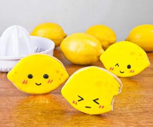 lemon, Cookies, and cute image