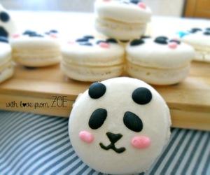 panda, sweet, and cute image