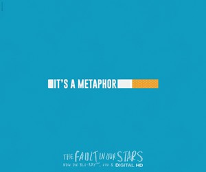 the fault in our stars and metaphor image