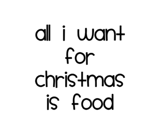 christmas, food, and quotes image
