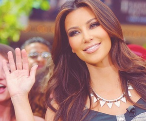 kim kardashian, smile, and kardashian image
