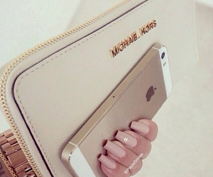 iphone, Michael Kors, and nails image
