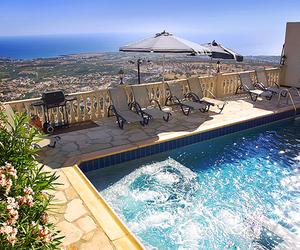 pool, luxury, and photography image