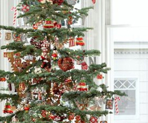 decorated, home, and tree image
