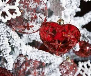 christmas, decor, and red image