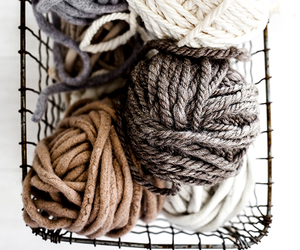 wool and knitting image