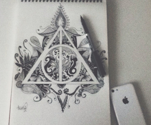 draw, love, and iphone image