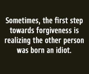 idiot and quote image
