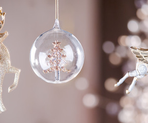 christmas, baubles, and book image