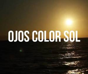 cancion, frase, and ojos image