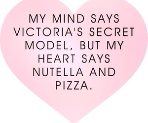 pizza, quote, and nutella image