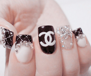 amazing, black and white, and chanel image