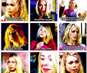 doctor who, rose tyler, and 10th doctor image
