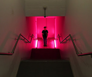 grunge, indie, and neon image
