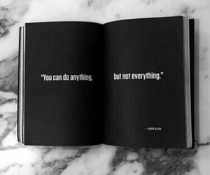 black, black and white, and book image