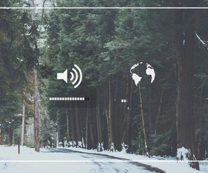 forest, music, and wallpaper image