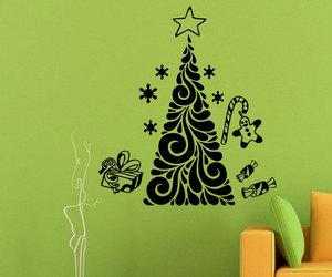 christmas, home decor, and murals image