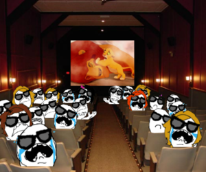 lion king and lol image