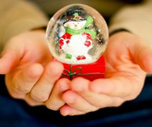 ball, christmas, and cristal image
