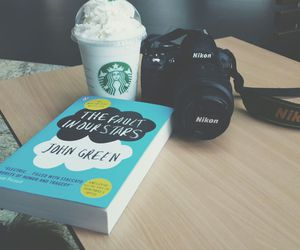 books, hipster, and john green image