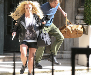acting, blonde, and criminal image