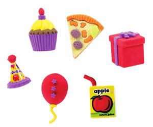 birthday, erasers, and gifts image