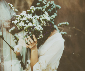 feminine, floral, and flowers image