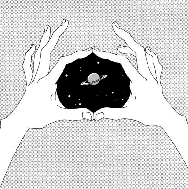 Universe in your hands via tumblr on we heart it